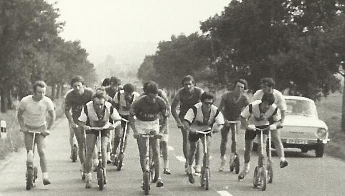 historie koloběžkového sportu
