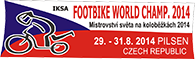 logo Footbike World Chamionship 2014