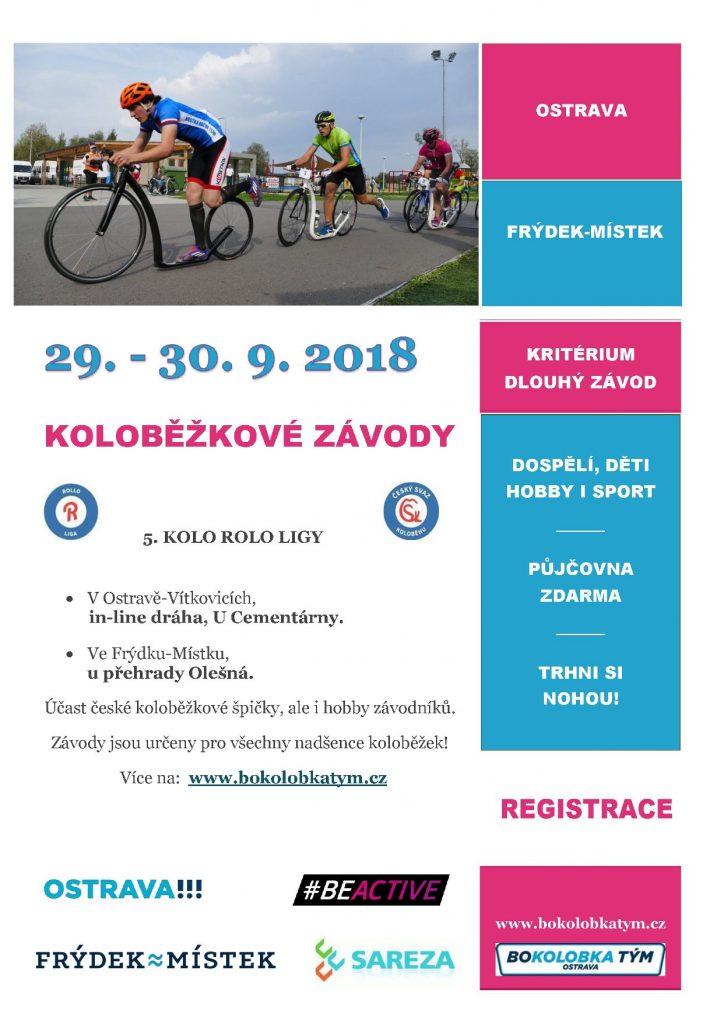 leták RL 2018, Ostrava