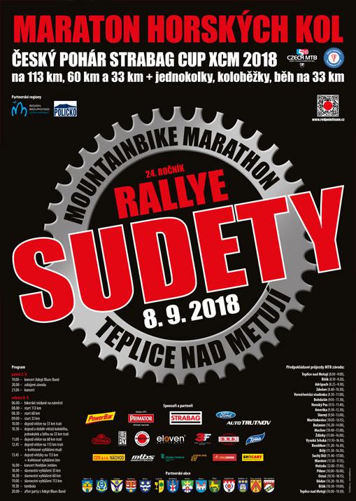 7.kolo ČKKP 2018 – Rallye Sudety