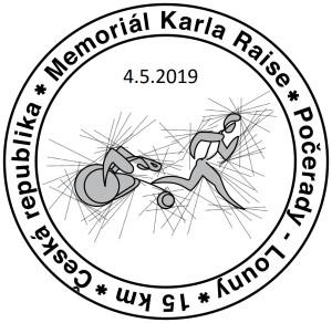 Silniční závod na 15 km zPočerad do Loun vsobotu 4.května 2019