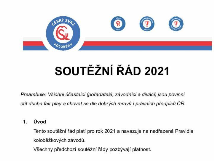 Zápis zonline jednání Předsednictva ČSK, nový Soutěžní řád adalší novinky